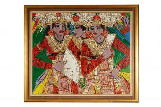 3 Legong Dancers